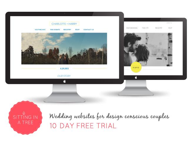 Sitting in a Tree Wedding Websites