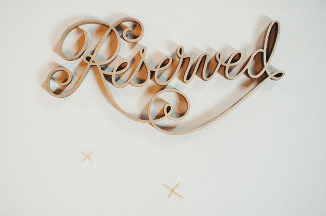 laser cut wedding design