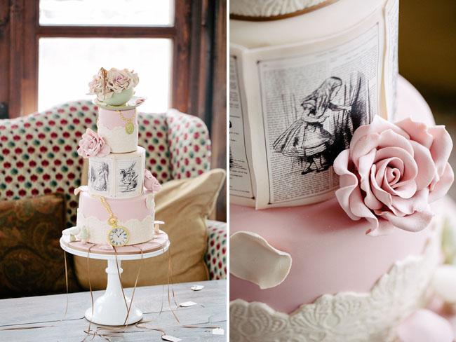 Alice in Winter Wonderland Wedding: Sabrina + Hubert - Green Wedding ...