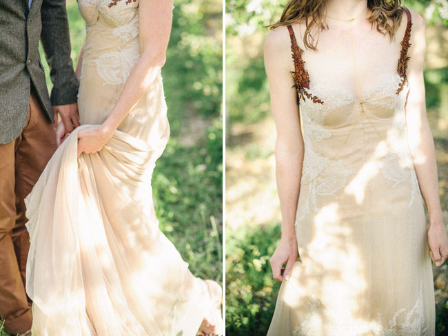 Beige Bridesmaid Dress: South African Handmade Wedding: Carin + Casper