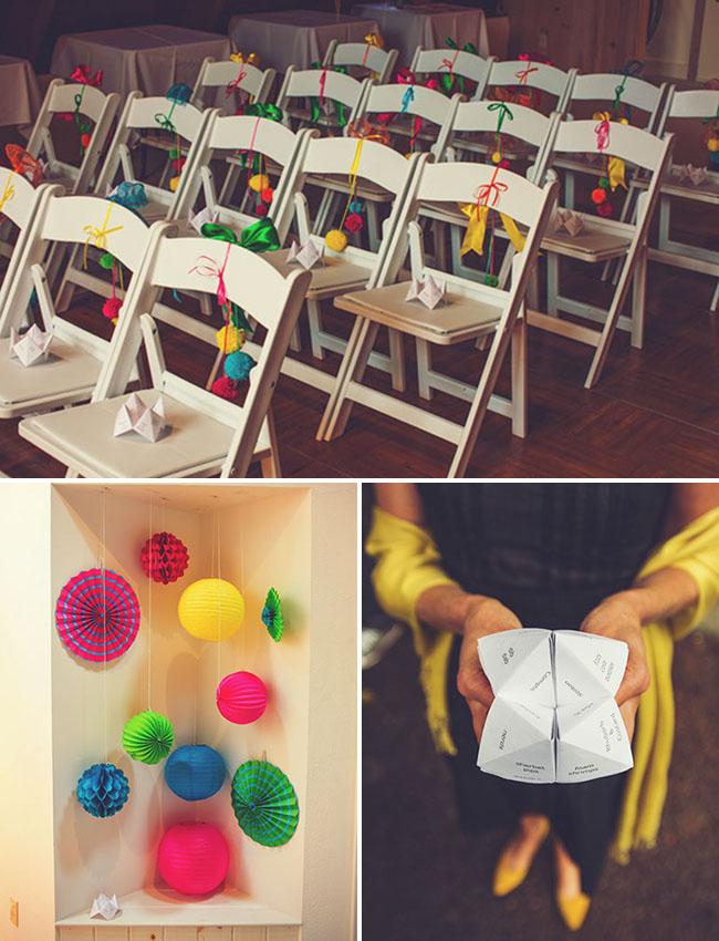 Colorful Handmade Wedding Sally Chris
