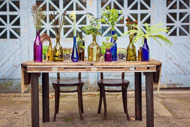 rustic tablescape