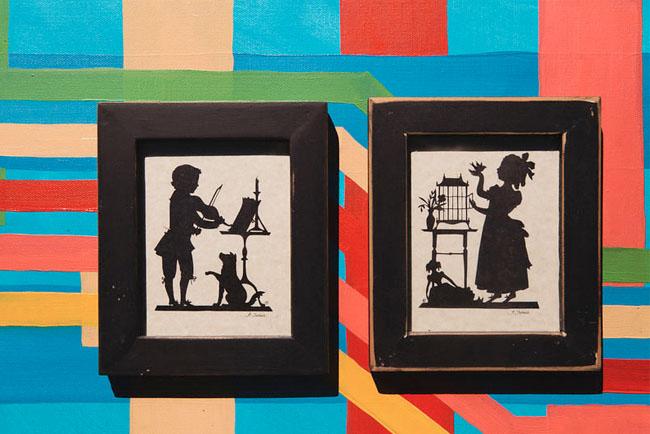 silhouette drawings
