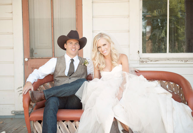 real weddings country mens wedding attire photos