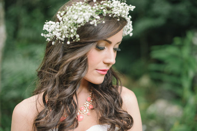 babys breath crown
