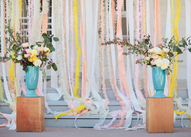 ribbbon backdrop