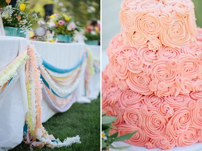 rosette cake