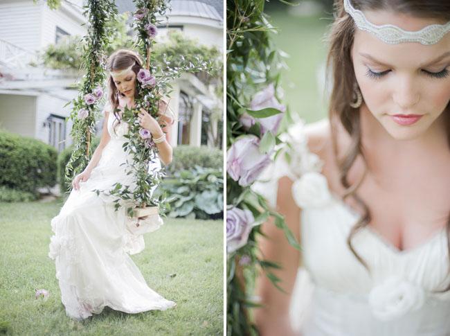 lavender swing