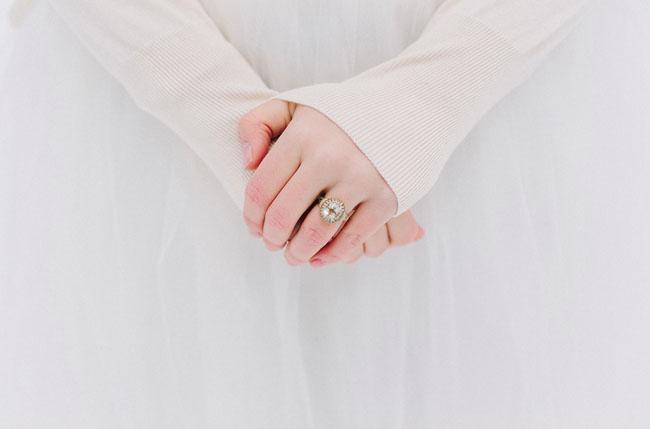 round engagment ring