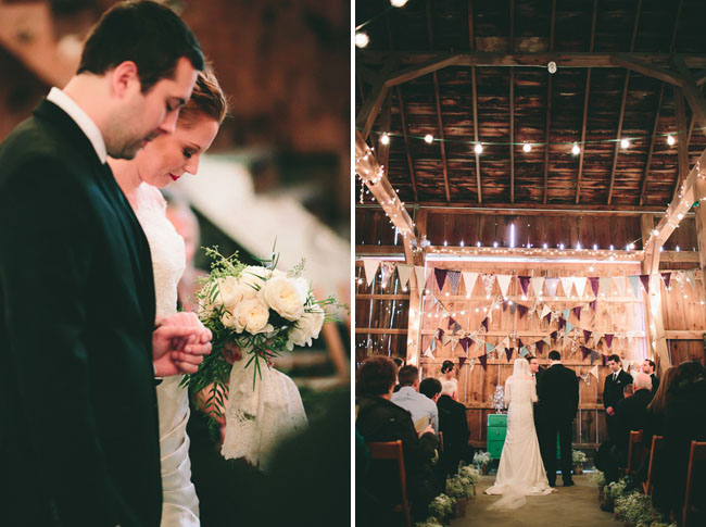barn ceremony