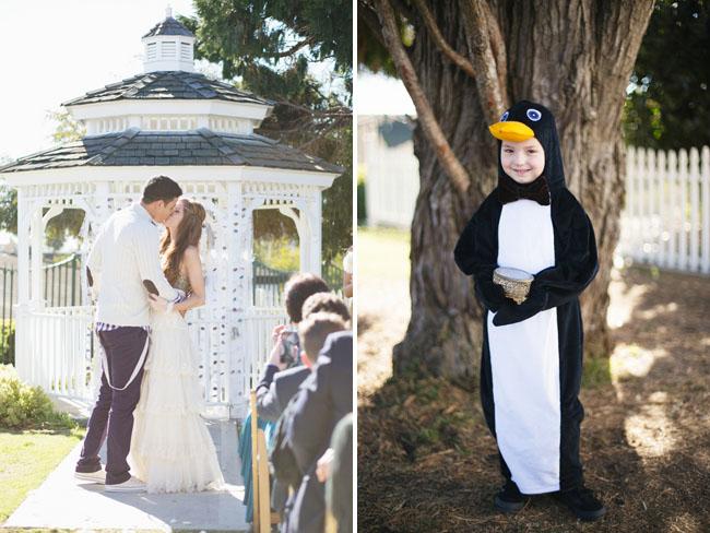 penguin ring bearer