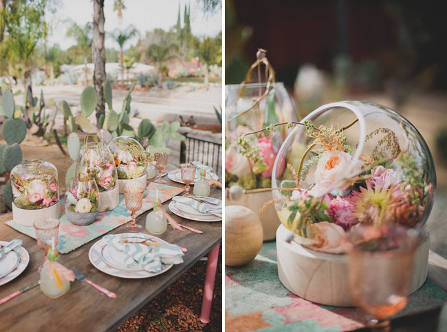 Desert Blooms Bridal Shower