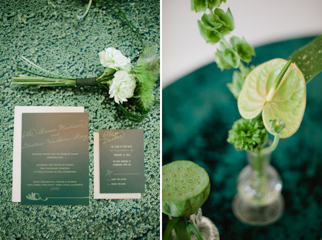 green invitation