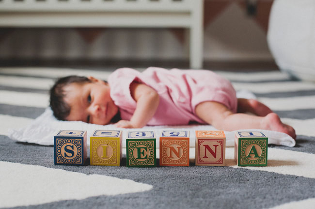 baby blocks sienna