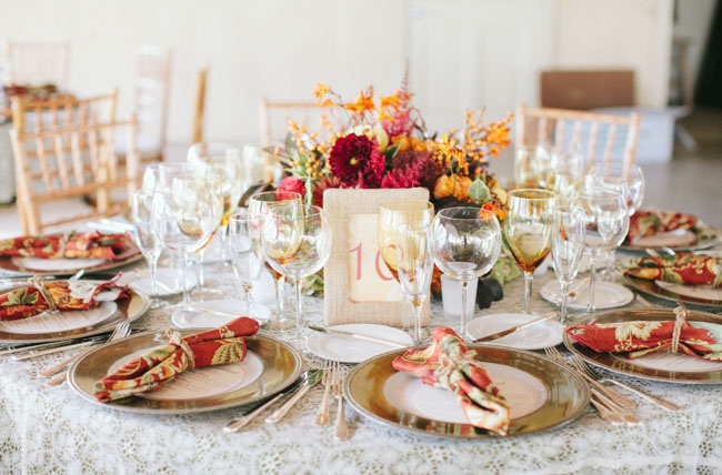 Autumn Rustic Wedding Amy Nate