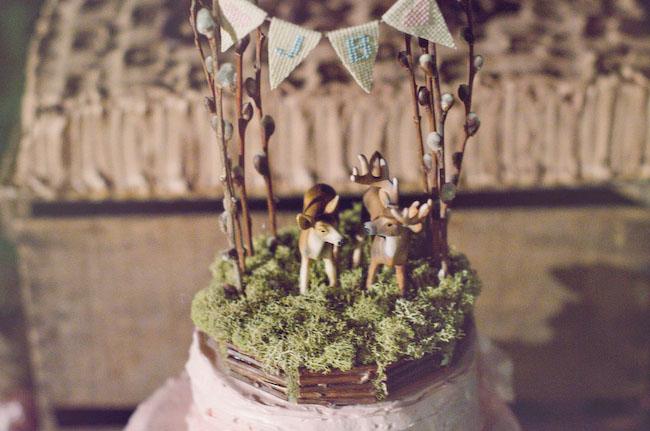 deer cake toppers