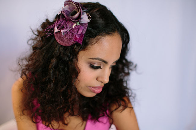 bridesmaids hair piece