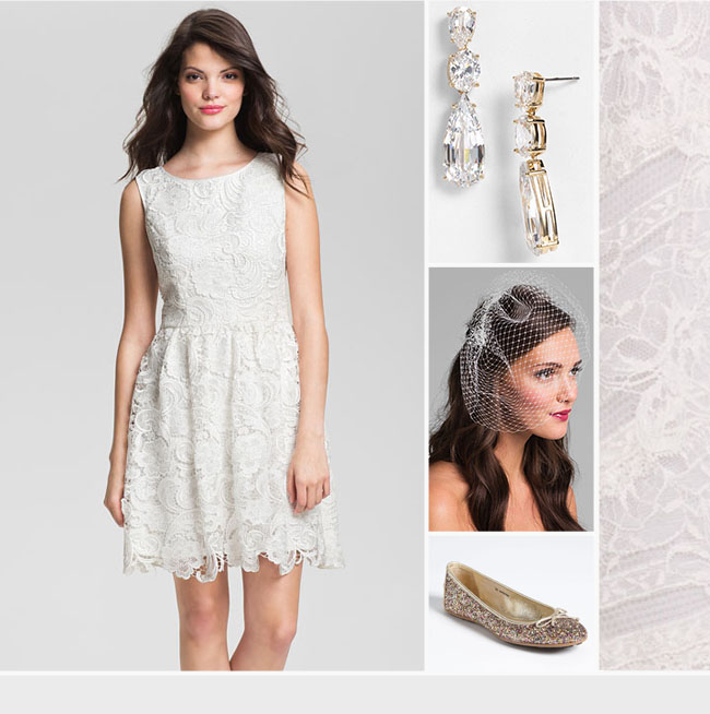 Wedding Dresses With Flats : Wedding dress trends lace dresses green shoes
