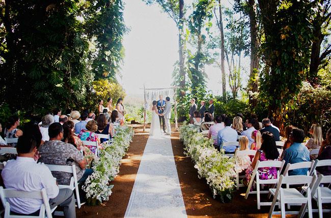 Enchanted Hawaiian Wedding Chastie + Wes  Green Wedding. Wedding Centerpiece Ideas Flowers. Wedding Shower Games Ideas Free. Beach Theme Wedding Reception Ideas. Qc Wedding Dj