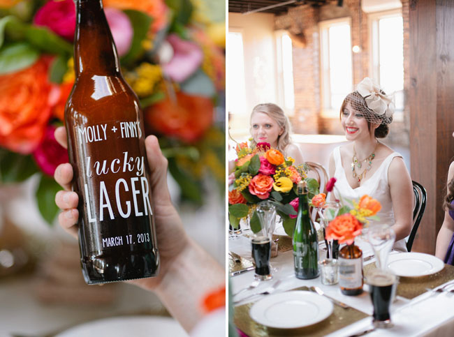 st. patricks day wedding