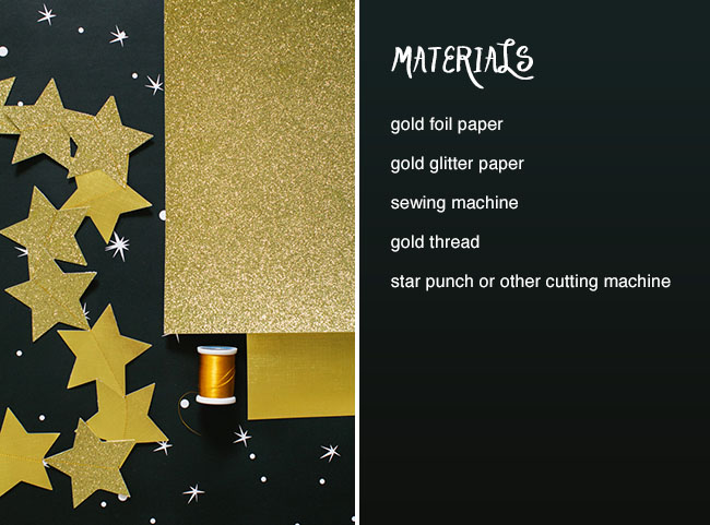 DIY_Star_Garland_materials