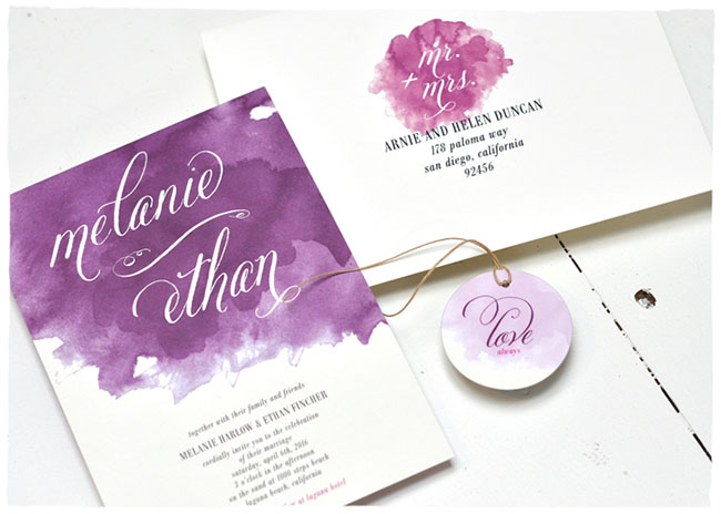 Daydream wedding invitations