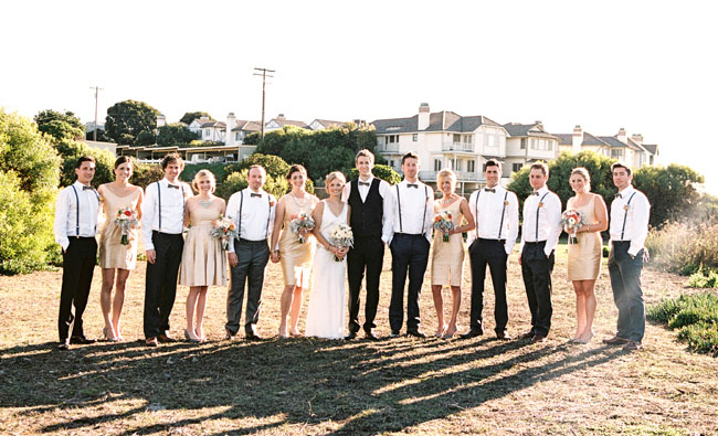 Glam California Beach Wedding Tara Dustin
