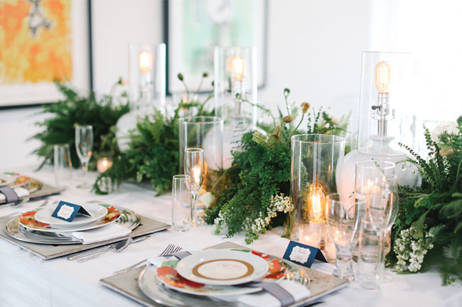fern tablescapes