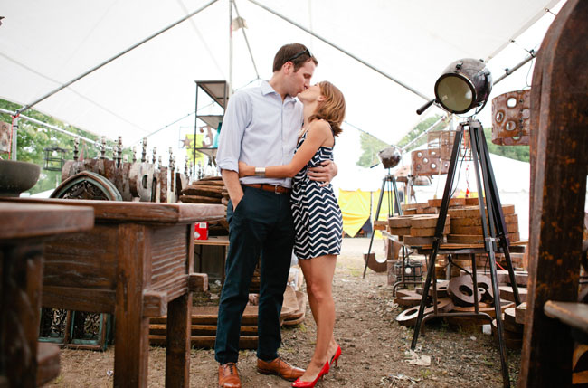 flea market engagement