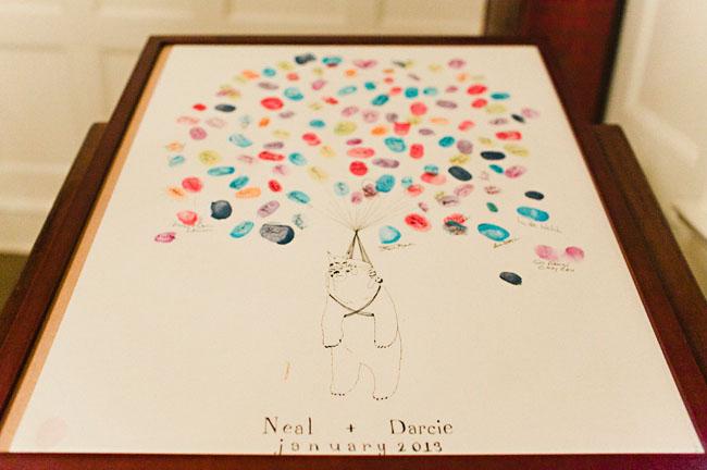 thumbprint guest book