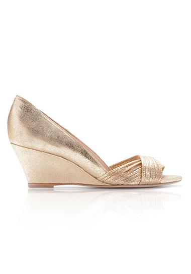 a66b0dd3ec0 Annabel Mignon Wedge - Green Wedding Shoes