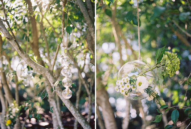 glass flower orbs
