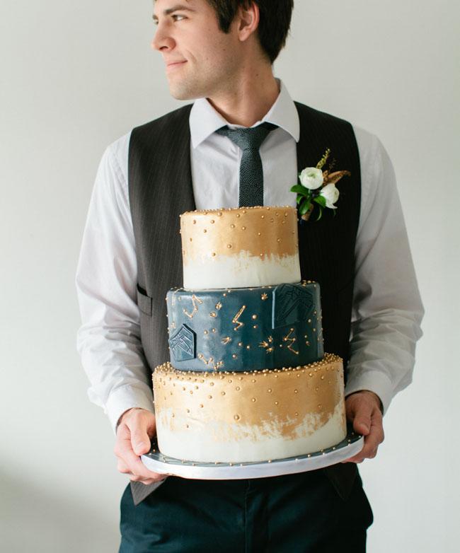 futuristic cake