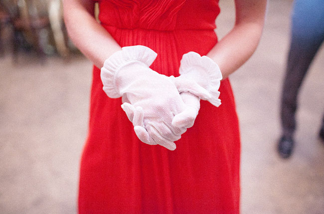 bridesmaid gloves