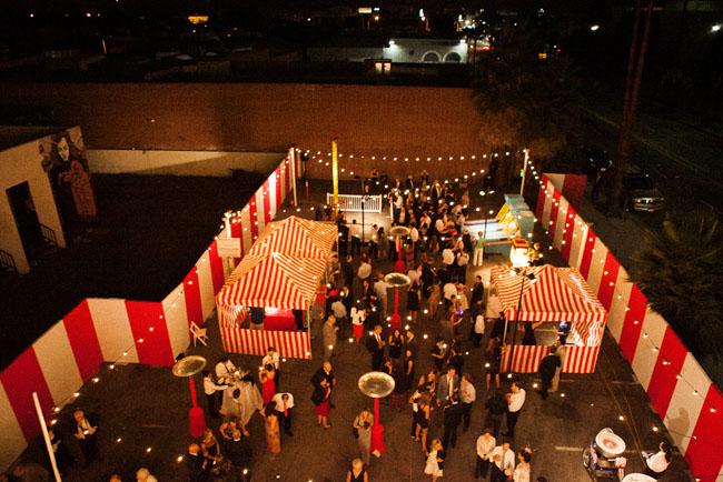 carnival reception