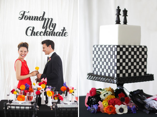 checkmate wedding inspiration