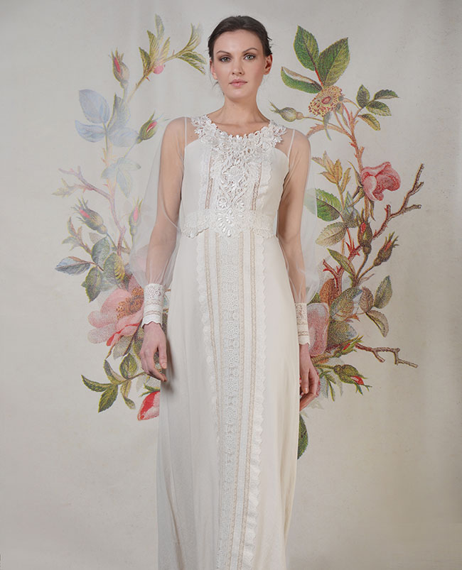 Claire Pettibone Wedding Dress: Claire Pettibone Decoupage