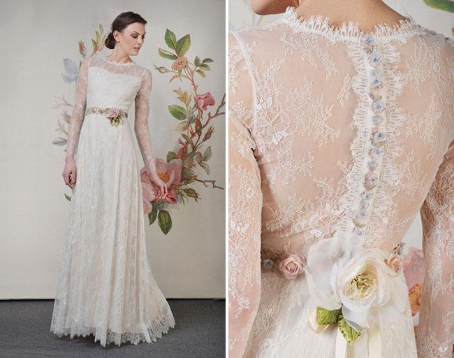 Claire Pettibone Wedding Dresses