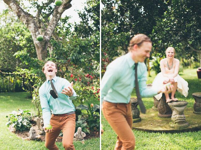 couple juggling