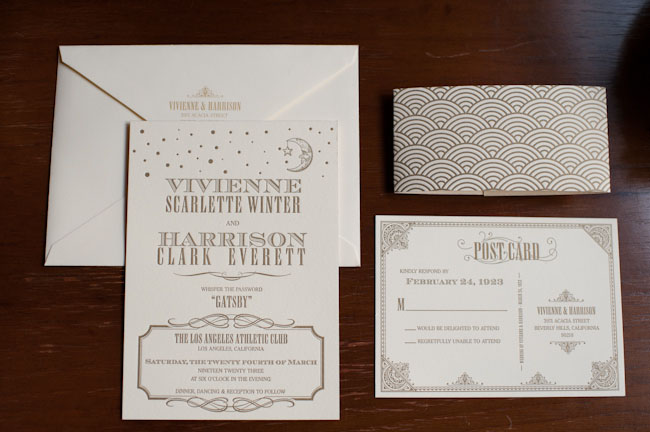 gatsby invitation