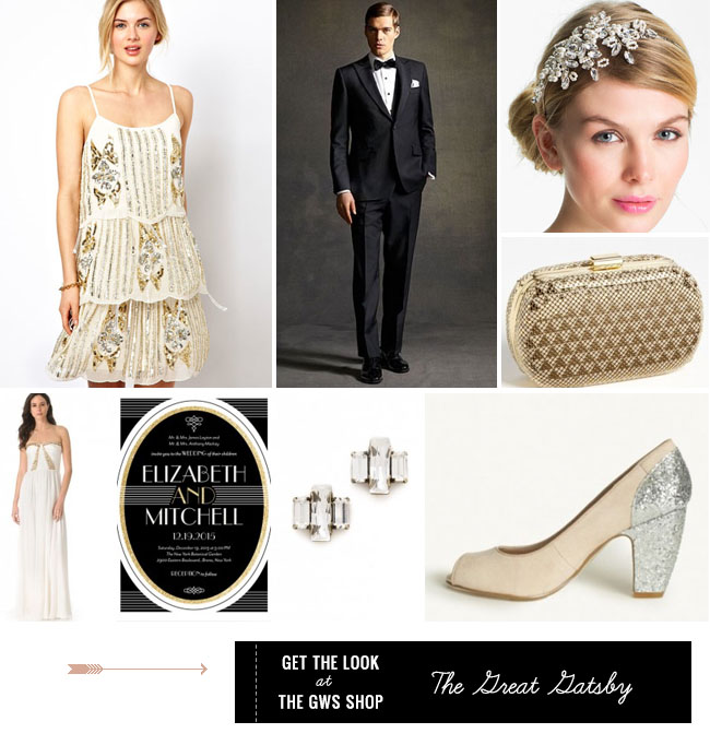 Get the Look Great Gatsby