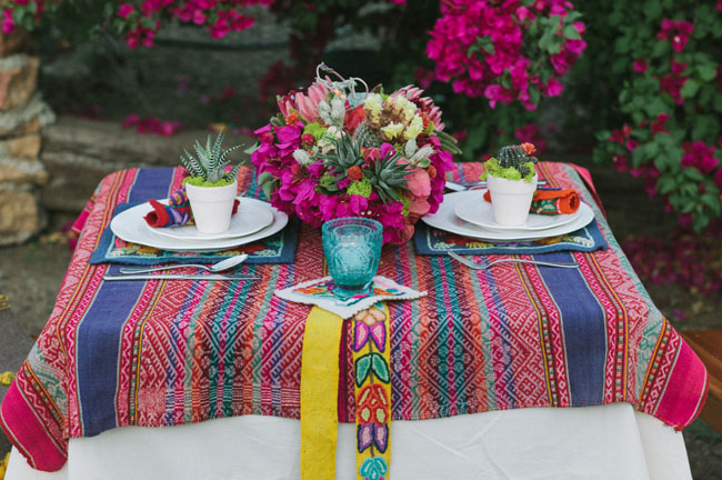 latin inspired tablecloth