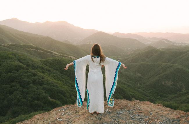 latin inspired wedding dress