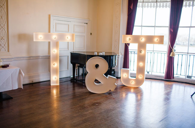 giant marquee letters