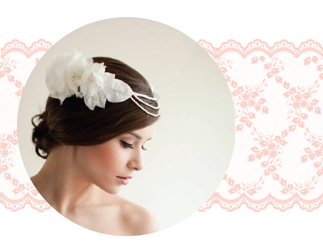 Bride hairpiece