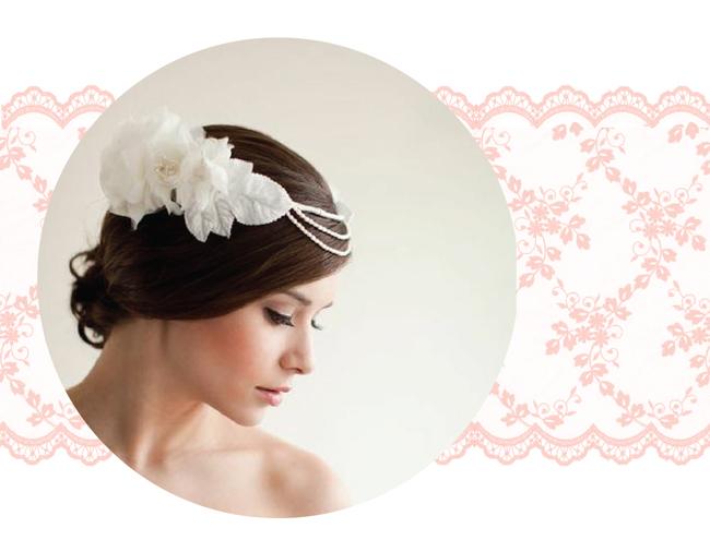 Bride hairpiece