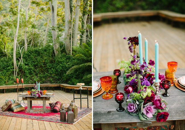 moroccan styled tablescape