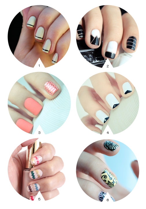 nail art inspiration for your wedding