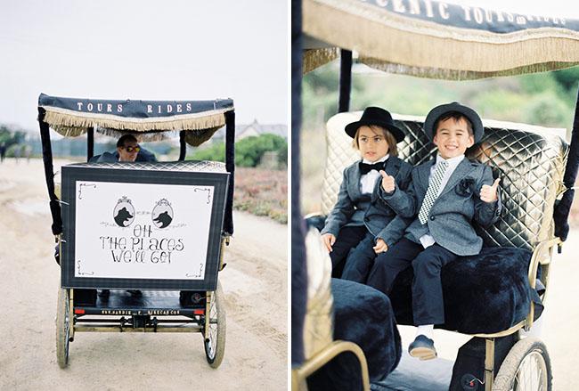 pedi cab wedding