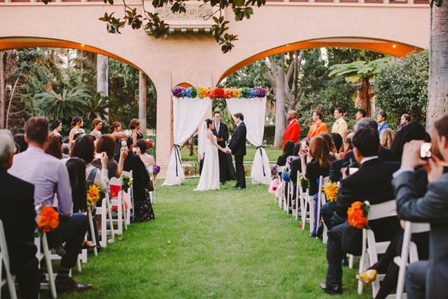 rainbow ceremony
